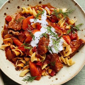 Quick Pork Goulash recipe