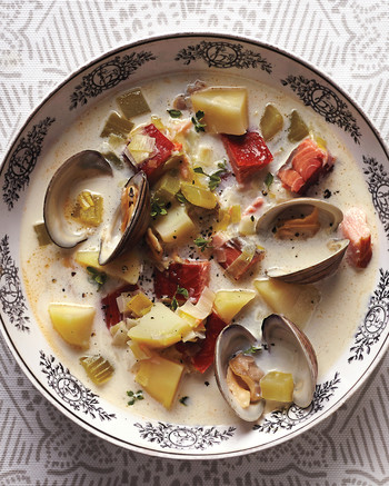 Seafood Chowder, Soup, and Stew Recipes