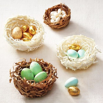 How to Make a Pretty Papier-Mache Bird's Nest for Easter