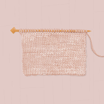 stockinette stitch in knitting