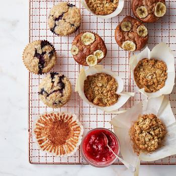 muffins on rack