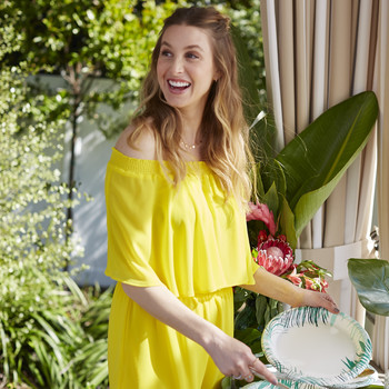 Whitney Port Gave Us a Sneak Peek at Her New Tableware Collection (And It's For A Good Cause!)