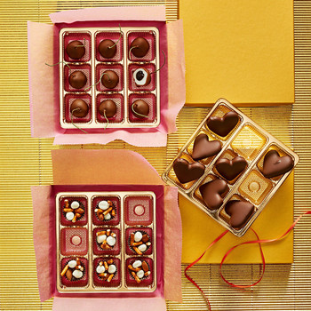 chocolates wrapping box