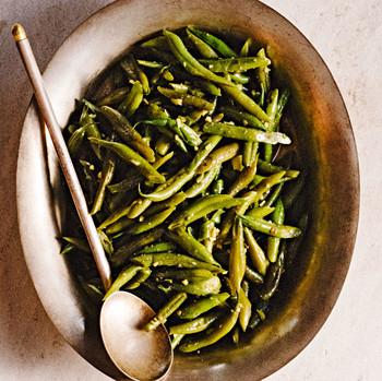 delhi style green beans
