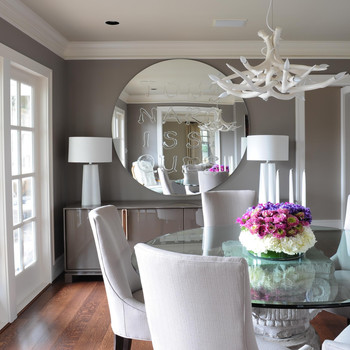 Formal and Functional: One House's Two Dining Spaces