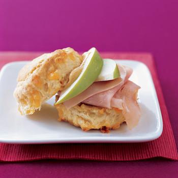 Ham and Apple Sandwiches