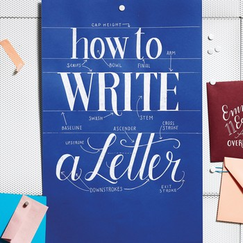 Try Your Hand at Lettering (and Get the Tricks to Look Like a Pro)