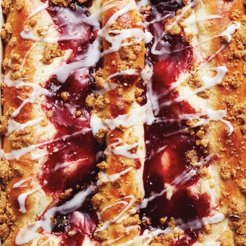 Red-Jam and Cheese Danish