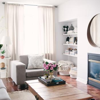 Design Lessons in Cohabitation: An Interior Designer's Feminine Touch Meets Her Boyfriend's Moodier Aesthetic