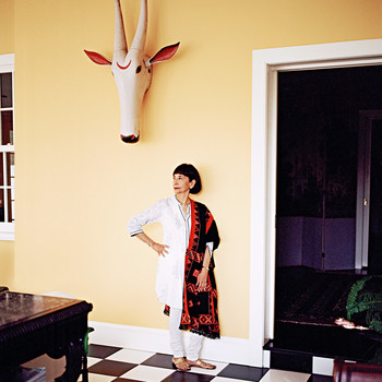 madhur jaffrey portrait indian cooking