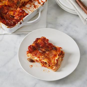 Mushroom and Eggplant Lasagna