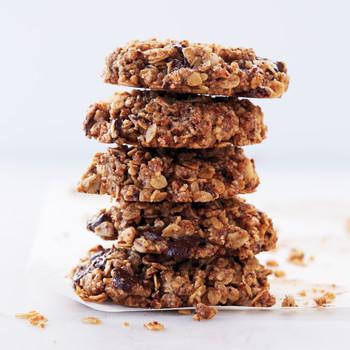 Pecan, Oat, and Dark-Chocolate-Chunk Cookies