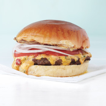 Pimiento-Cheese Burgers