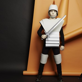 soldier-paper-costume