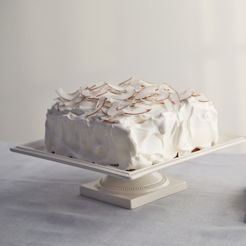 Coconut Cake with Meringue Frosting