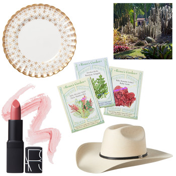 tastemaker products cowboy hat lipstick plate seeds