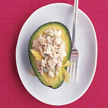 Tuna Salad in Avocado Halves