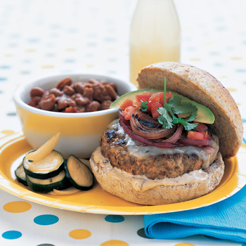 Turkey-Pork Burgers