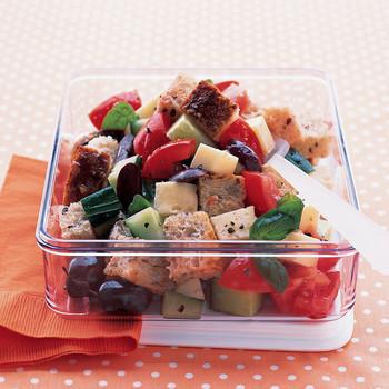 Quick Tuscan Bread Salad