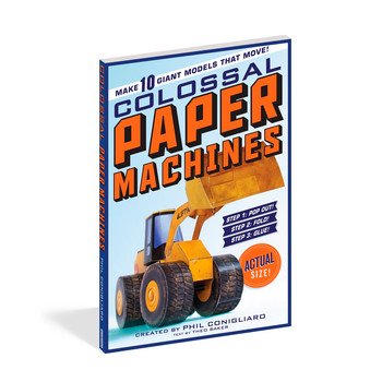 """Playing with """"Colossal Paper Machines"""": 5 Questions for Phil Conigliaro"""