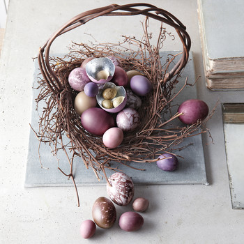 See the Stunning Easter Baskets Kevin Sharkey Makes for Martha Each Year