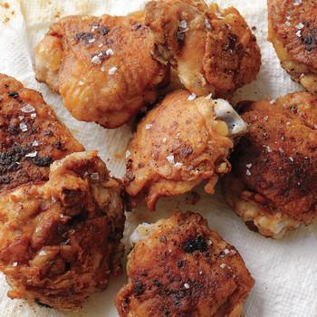 Super-Fast Fried Chicken