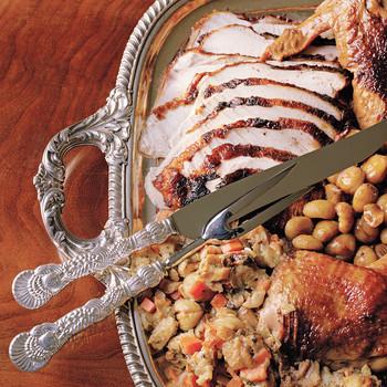 Roast Turkey with Cornbread Stuffing