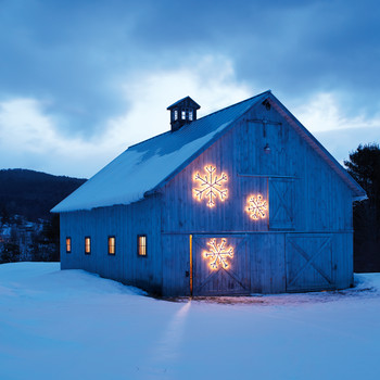 String-Light Snowflake