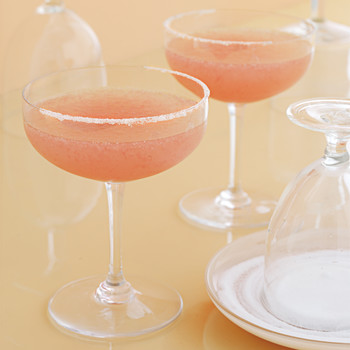 Red-Grapefruit Margaritas