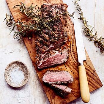 grilled lamb loins