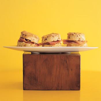 Hot Mustard Biscuits