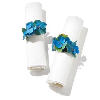 Hydrangea Napkin Rings