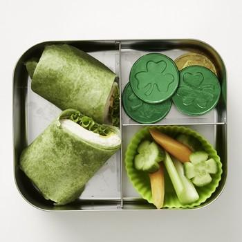 圣。帕特里克·天午餐盒