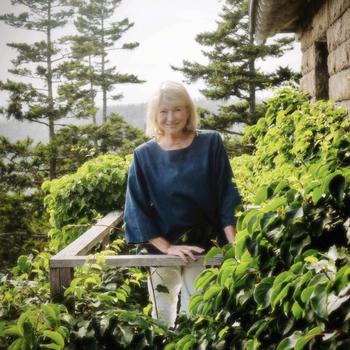 Martha Stewart's Birthday Photo