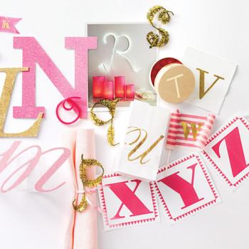 Clip-Art Letter Banners