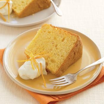 Candied Orange Zest for Orange Chiffon Cake