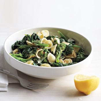 Orecchiette with Broccoli Rabe, Oregano, and Lemon