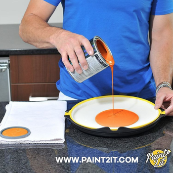 paint2it antigravity paint tray