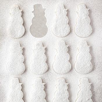 shortbread snowmen