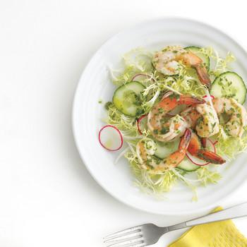 Spring Vegetables with Shrimp