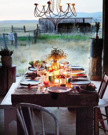 Homemade on the Range: Montana Dinner Party