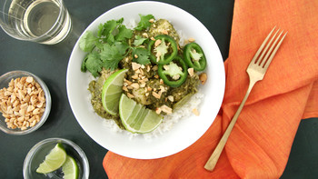 Slow Cooker Cilantro-Chutney Chicken