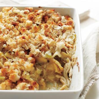 Chicken-and-Artichoke Lasagna