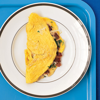 Bacon and Cheddar Omelet