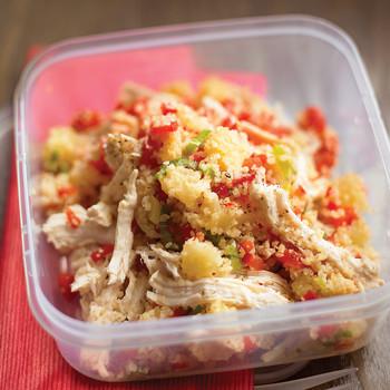 Easy Chicken and Bulgur Salad