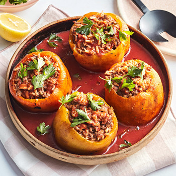 chili stuffed peppers