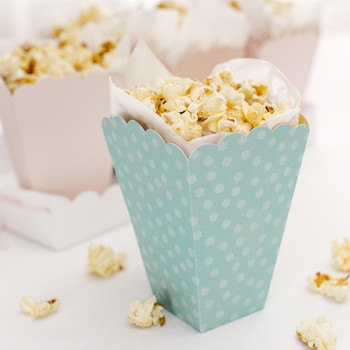 cricut colorful paper popcorn boxes