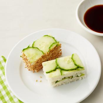 cucumber rice sandwich