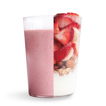 Hearty Fruit and Oat Smoothie