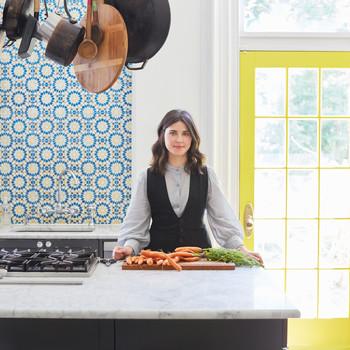 julia sherman kitchen portrait